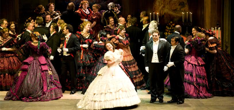 La Traviata à Rome : version originale avec ballet