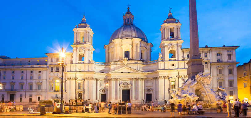 Great Opera Piazza Navona In Rome Rome