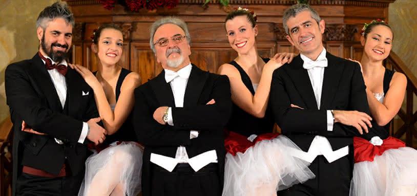 Les Trois Ténors à Rome Mandolines napolitaines Orchestre et ballet