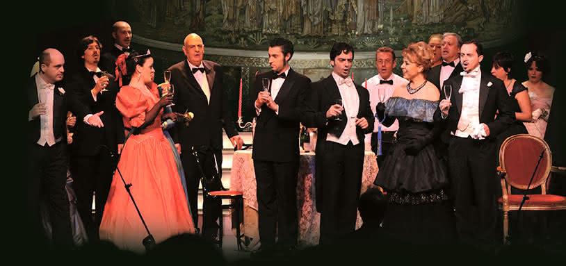 I Virtuosi dell'opera di Roma : La Traviata à San Paolo Entro le Mura
