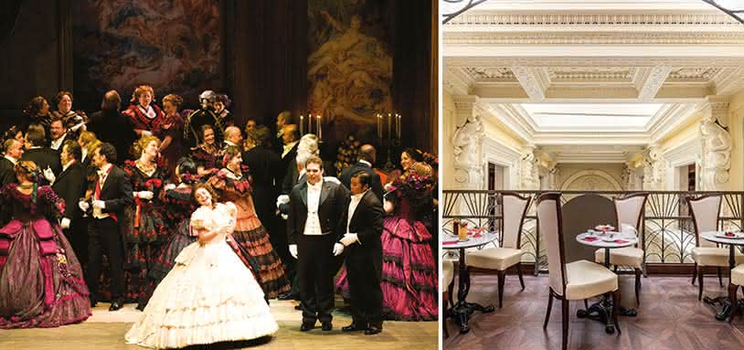 La Traviata & dîner : l'Opéra original de Giuseppe Verdi