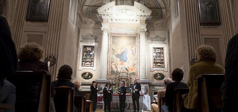 Concert et dîner de Noël baroque : Crypte des Capucins