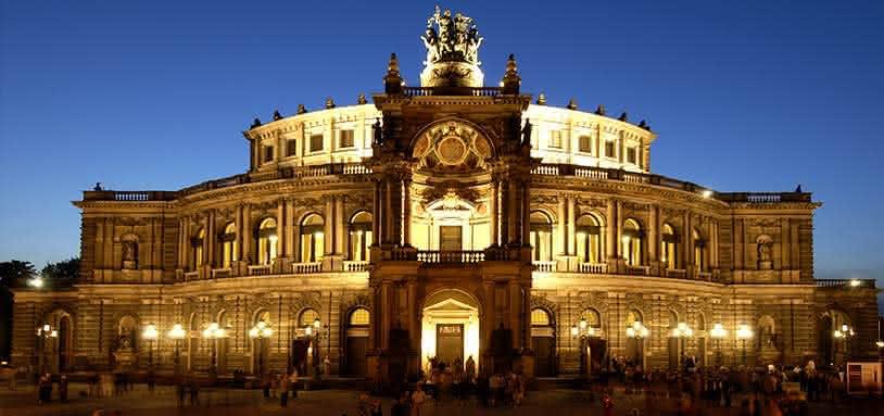 Semperoper Dresden, © Photo: Mathias Creutziger