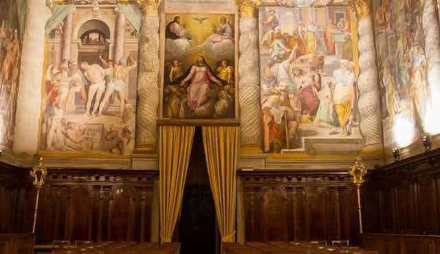 Un voyage en anglais à l'Oratorio del Gonfalone